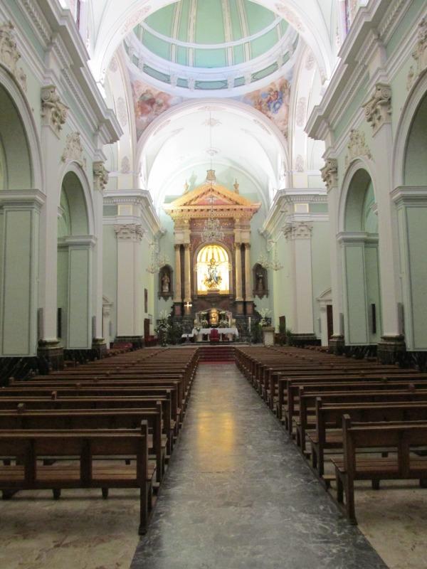 Innenansicht Kirche