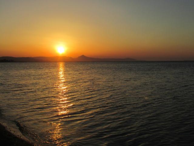 Casa Korell Sonnenuntergang