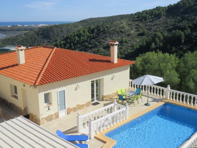 Casa Korell mit Pool und Meer
